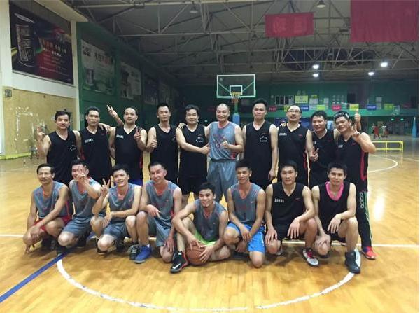 公司组织篮球赛